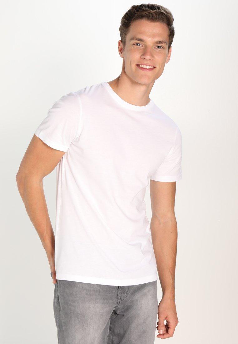 Pier One - 3 PACK - T-shirt basic - white