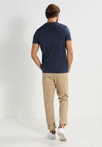 Pier One - 3 PACK - T-shirts basic - dark blue - 3