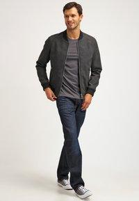 Pier One - 2 PACK - T-shirt basique - dark grey melange - 1