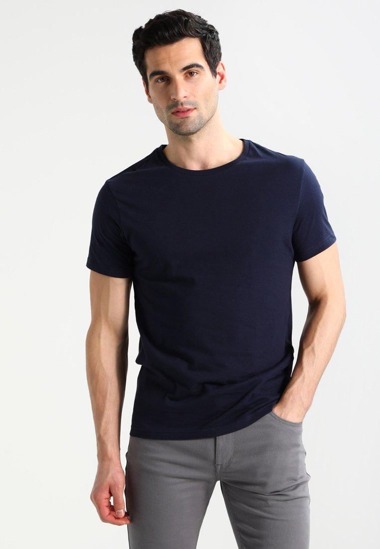 Pier One Blau shirt Basique PackT 2 kXZuPi