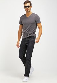 Pier One - 2 PACK - T-shirts basic - dark grey melange - 1