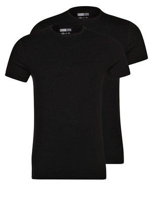 2 PACK - T-shirt - bas - black