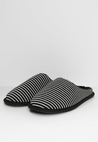 Pier One - Pantoffels - black/grey - 2