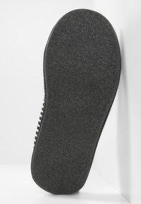 Pier One - Domácí obuv - black/grey - 4