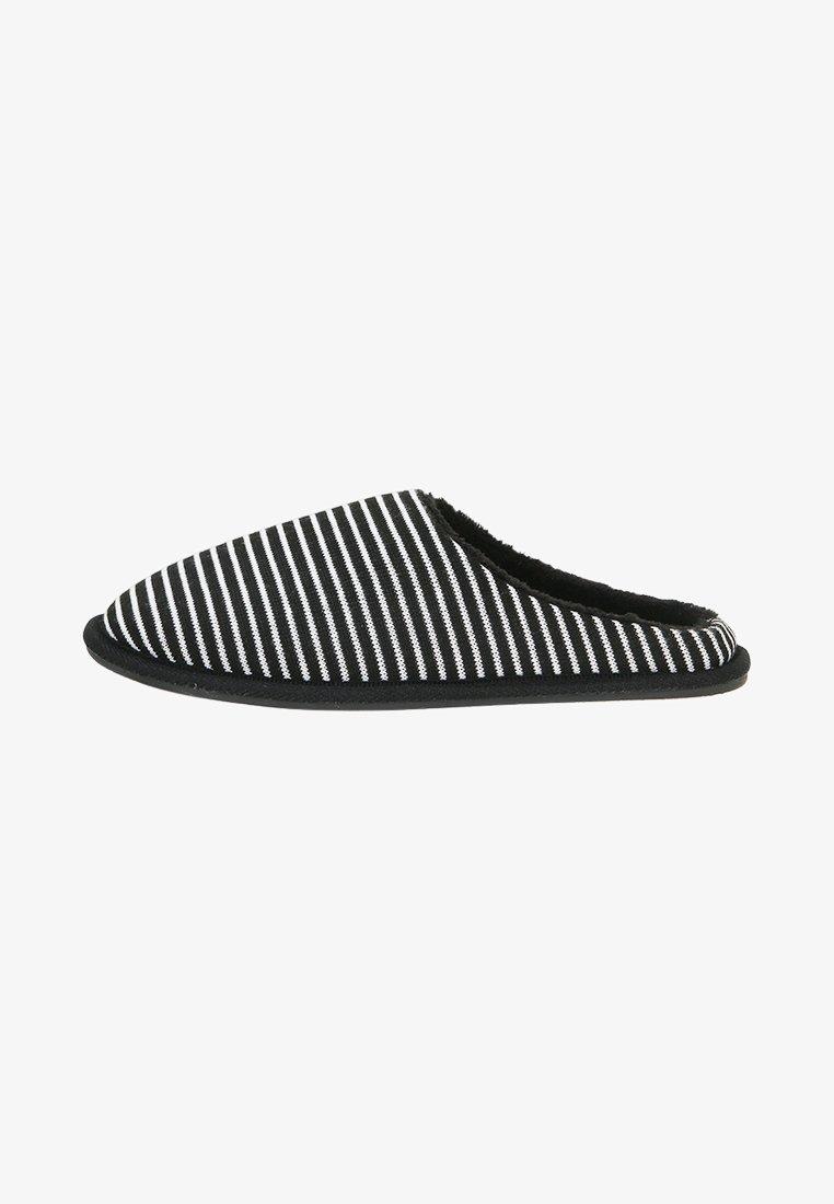 Pier One - Domácí obuv - black/grey