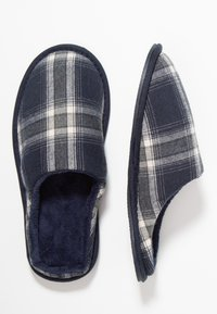 Pier One - Pantuflas - dark blue