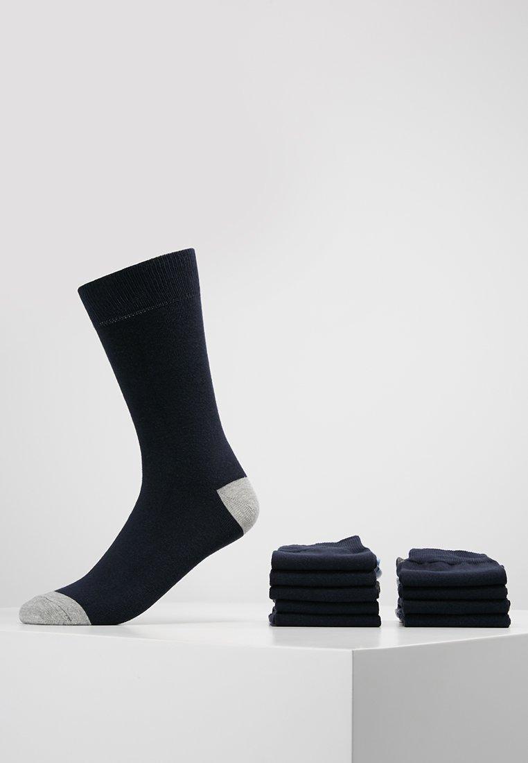 Pier One - 10 PACK - Socks - dark blue