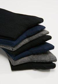 Pier One - Socks - grey/black/blue - 2