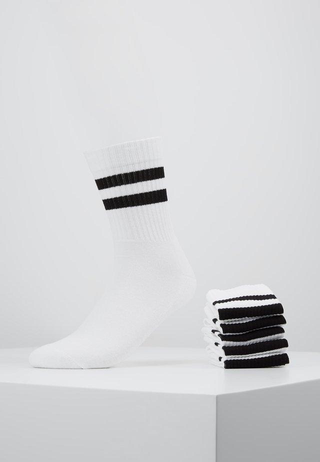 5 PACK - Sokker - white