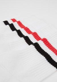 Pier One - 5 PACK - Socks - white/red/black - 2