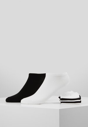 7 PACK - Strumpor - white/black