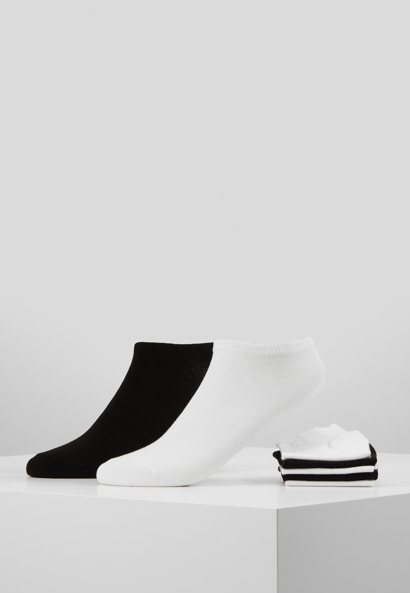 Pier One - 7 PACK - Calcetines - white/black
