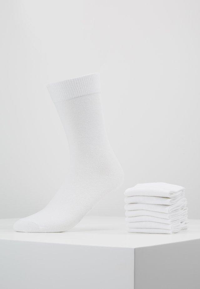 7 PACK - Sokker - white