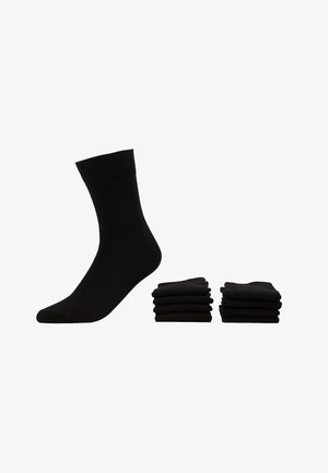 7 PACK - Calcetines - black