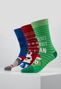 Pier One - 3 PACK - Socken - multicoloured - 0