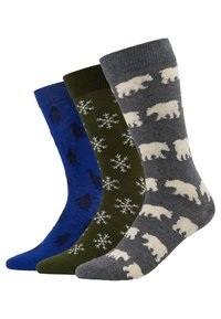Pier One - 3 PACK - Socken - multicoloured - 0