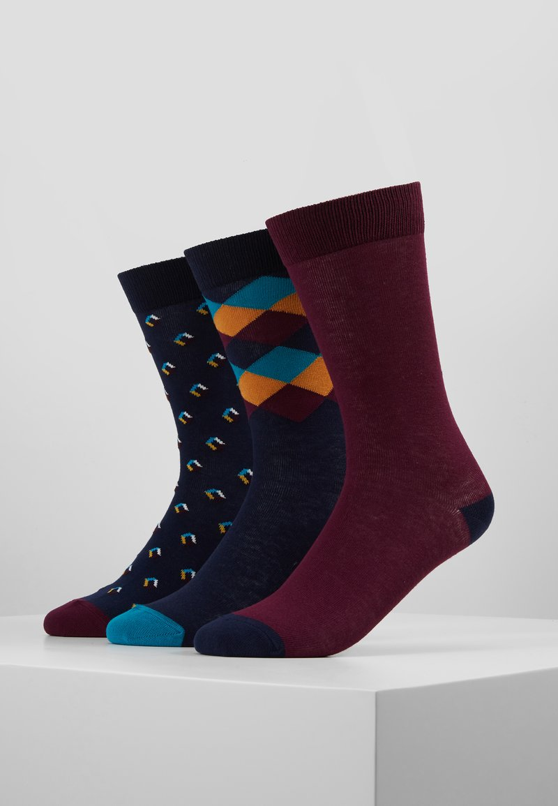 Pier One - 3 PACK - Chaussettes - multi-coloured