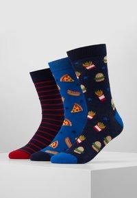 Pier One - 3 PACK - Ponožky - multi-coloured - 0