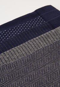 Pier One - 5 PACK - Ponožky - dark blue/mottled grey - 2
