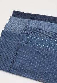 Pier One - 5 PACK - Ponožky - mottled blue - 1