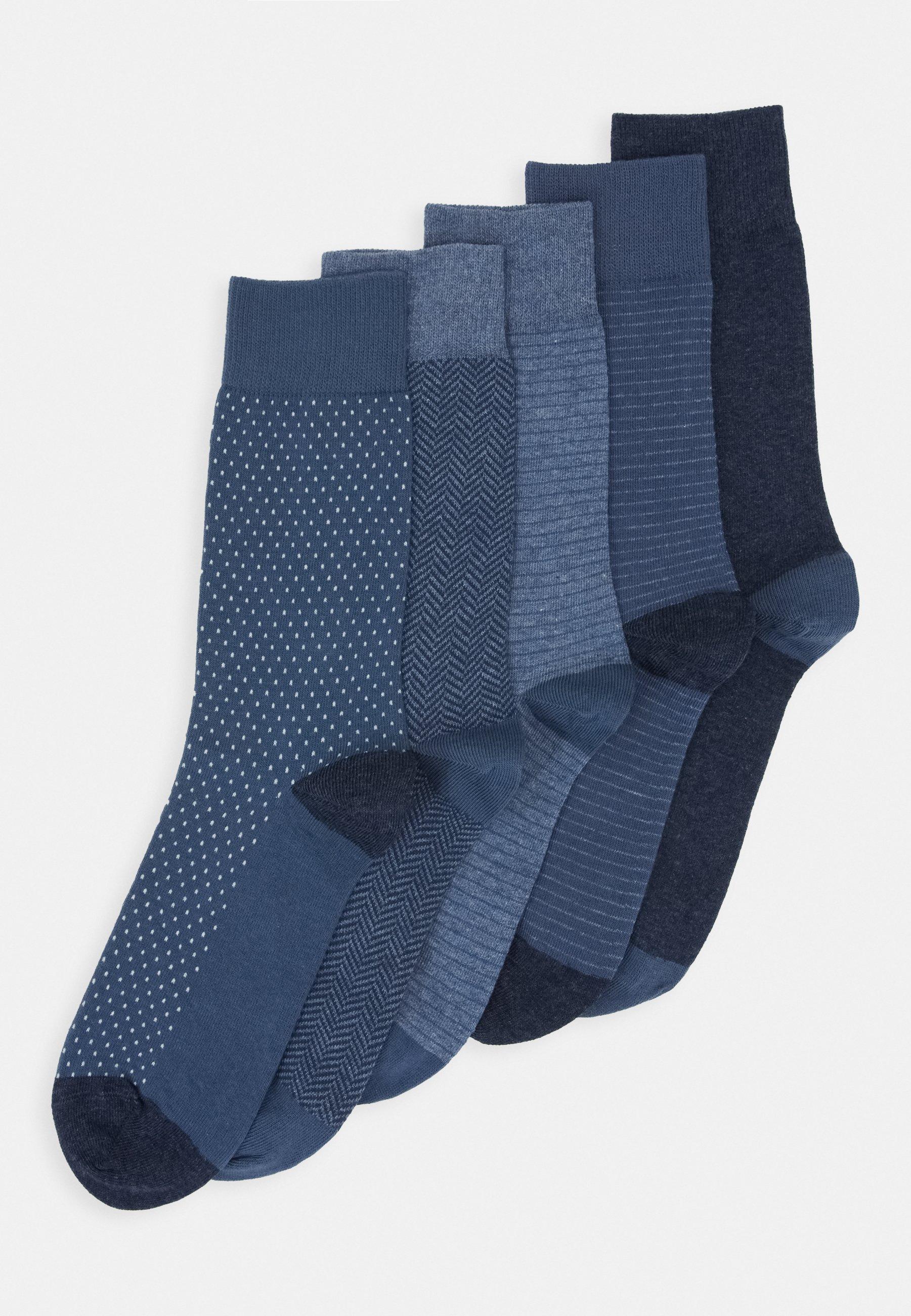Hommes Tige chaussettes 5er Pack