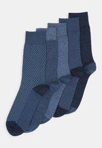 5 PACK - Sokken - mottled blue