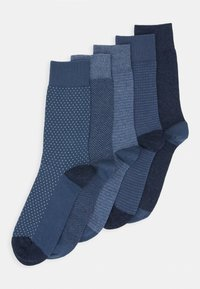 Pier One - 5 PACK - Ponožky - mottled blue - 0
