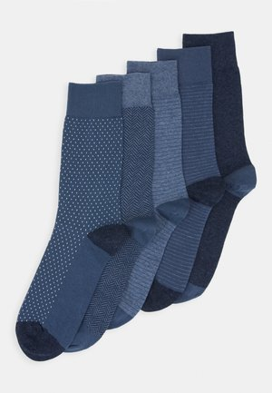 5 PACK - Calze - mottled blue