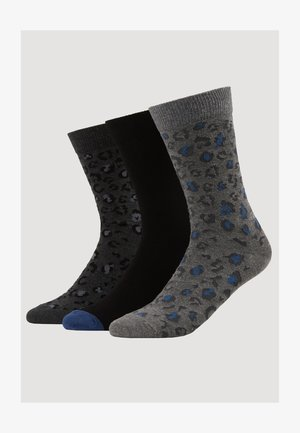 3 PACK - Chaussettes - mottled grey