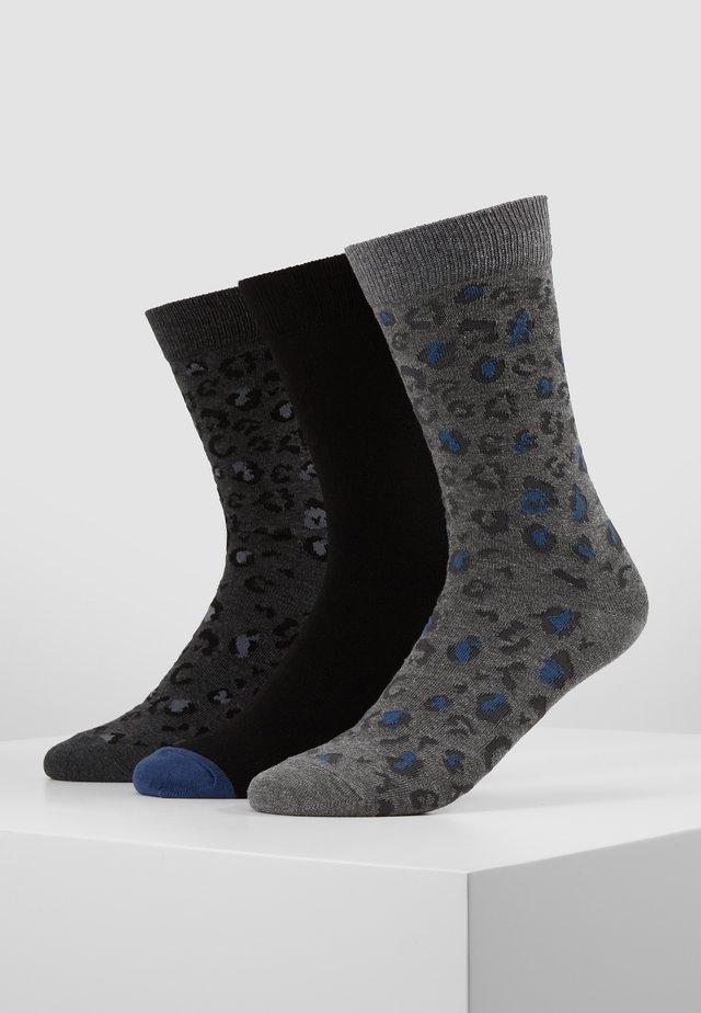 3 PACK - Socks - mottled grey