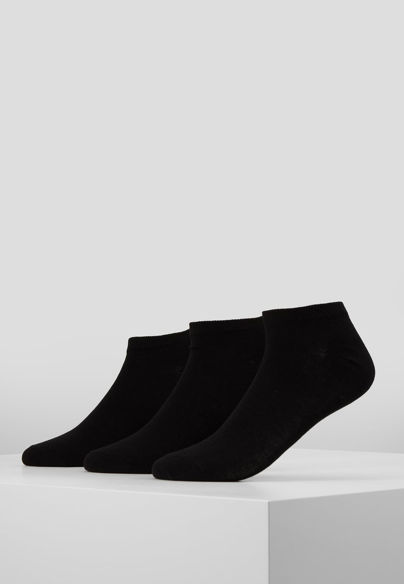Pier One - 3 PACK - Chaussettes - black