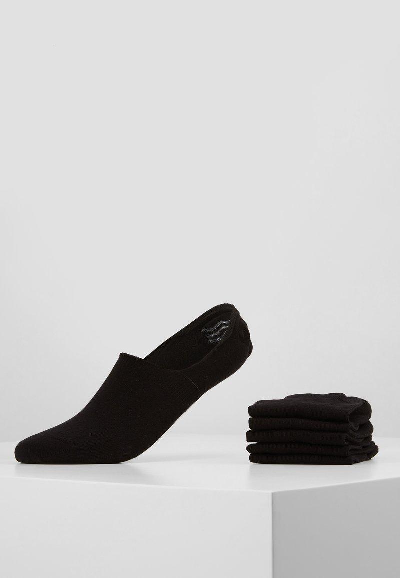 Pier One - 5 PACK - Enkelsokken - black