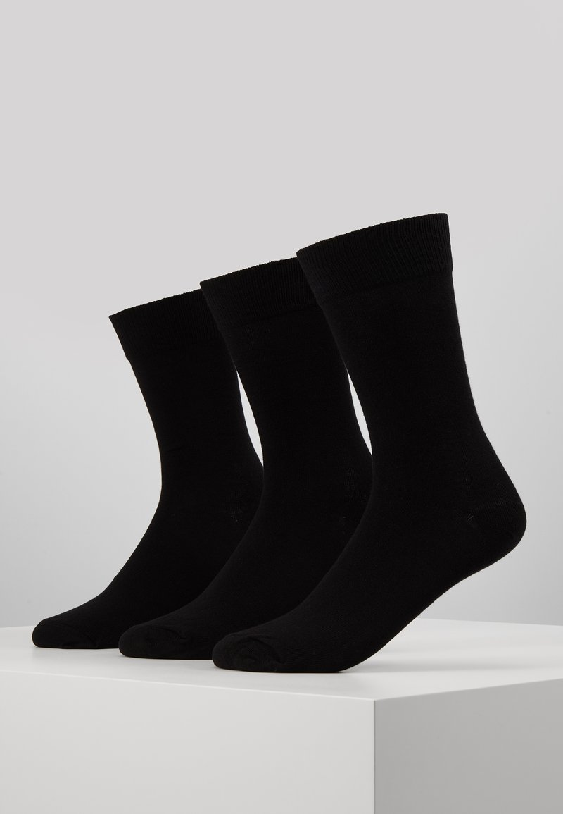 Pier One - 3 PACK - Ponožky - black