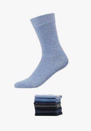 7 PACK - Ponožky - blue