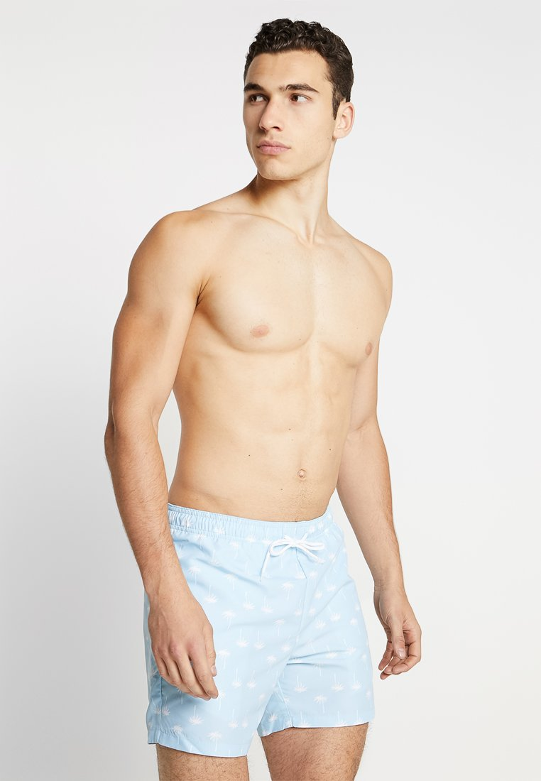 Pier One - Swimming shorts - light blue