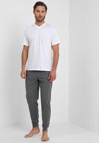 Pier One - Pyjamasbyxor - dark gray - 1