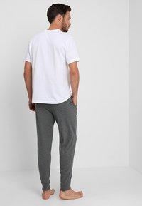 Pier One - Pyjamasbyxor - dark gray - 2