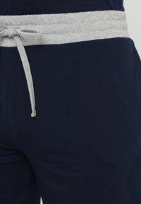 Pier One - 2 Pack - Pyjamahousut/-shortsit - grey/dark blue - 5