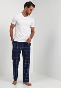 Pier One - Pyjamabroek - dark blue - 1