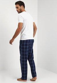 Pier One - Pyjamabroek - dark blue - 2