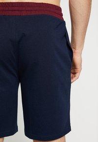 Pier One - 2 PACK - Pyjamasbyxor - dark blue/bordeaux - 2