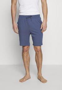 Pier One - BASIC 3 PACK - Pyjamabroek - blue/beige/dark blue - 1