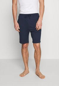 Pier One - BASIC 3 PACK - Pyjamabroek - blue/beige/dark blue - 3