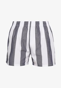 Pier One - Pantaloni del pigiama - white/dark blue - 2