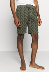 Pier One - 2 PACK - Pyjama bottoms - khaki/black - 2