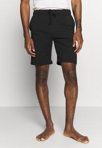 Pier One - 2 PACK - Pyjama bottoms - khaki/black - 1