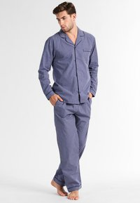 Pier One - SET - Pyjama set - blue - 0