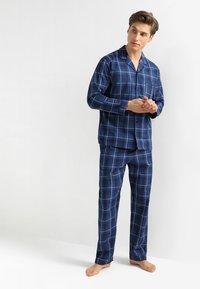 Pier One - Pijama - dark blue - 1