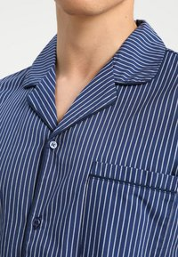 Pier One - STRIPE WOVEN BUTTON UP SET  - Pijama - blue - 3