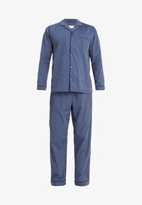 Pier One - STRIPE WOVEN BUTTON UP SET  - Pijama - blue - 4
